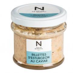 Caviar De Neuvic - Rillettes d'Esturgeon au Caviar 90 gr - Rillettes -