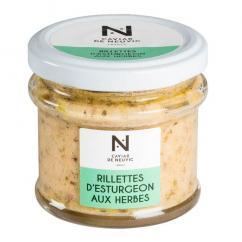 Caviar De Neuvic - Rillettes d'Esturgeon aux Herbes de Provence 90 gr - Rillettes -