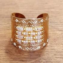 C'cédille - Bague Icate XL Gold light - Bague - Plaqué Or