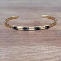 C'cédille - Bracelet Ana Or - Bracelet - Plaqué Or gold filled