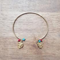 C'cédille - Bracelet Jonc Mila Or - Bracelet - Plaqué Or gold filled