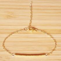C'cédille - Bracelet Ola Or - Bracelet - Plaqué Or gold filled