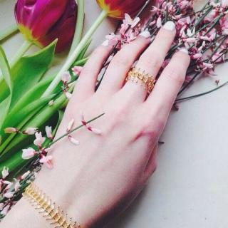 Celine H2o - ISIS - bracelet chaîne épi plaqué or, petit bracelet, bracelet bohême chic, bracelet délicat, bracelet chaine, bracelet fin,bijou - Bracelet - Plaqué Or