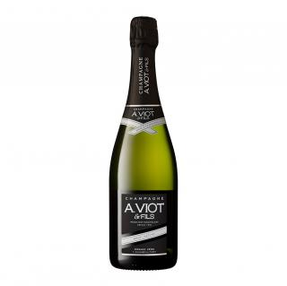 Champagne A. Viot & Fils - Brut Nature Zéro dosage - Champagne - N/A - Bouteille - 0.75L