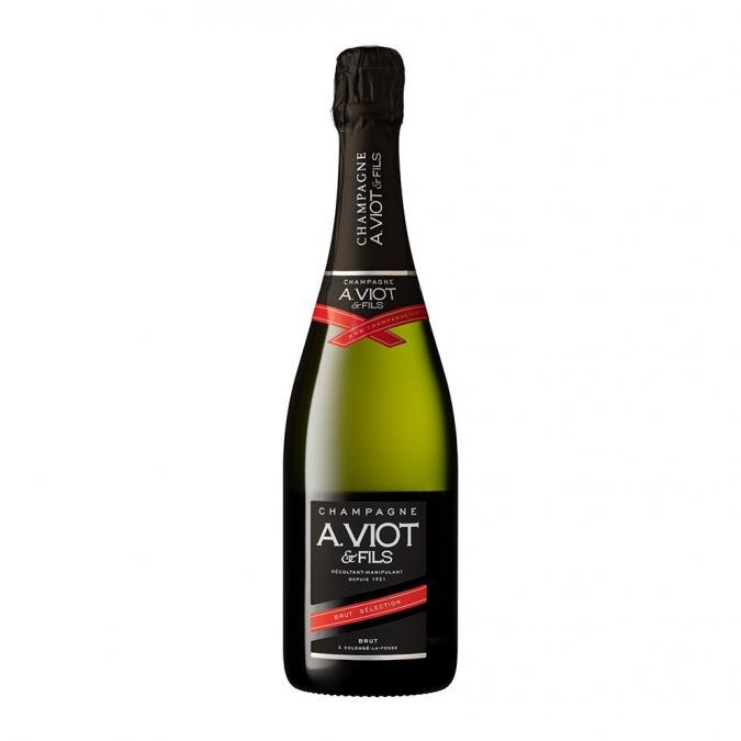 Champagne A. Viot & Fils - Brut Sélection - Champagne - N/A - Bouteille - 0.75L