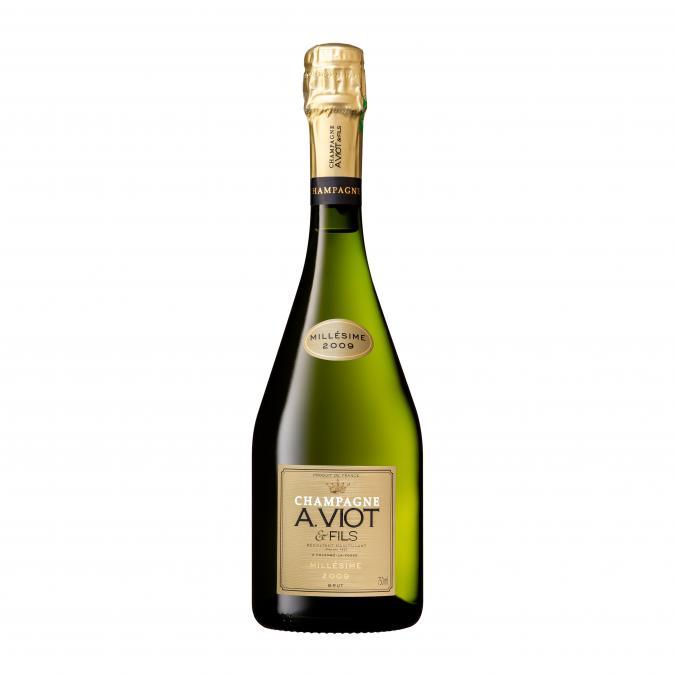 Champagne A. Viot & Fils - Millésime 2009 - Champagne - 2009 - Bouteille - 0.75L