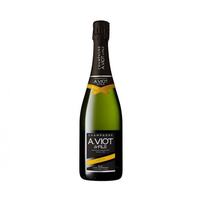 Champagne A. Viot & Fils - Prestige 100% Chardonnay - Champagne - N/A - Bouteille - 0.75L