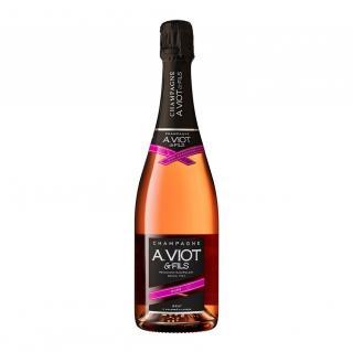 Champagne A. Viot & Fils - Rosé - Champagne - N/A - Bouteille - 0.75L