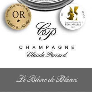 CHAMPAGNE Claude PERRARD - CHAMPAGNE Claude PERRARD Brut Blanc de Blancs - Champagne - N/A - Bouteille - 0.75L