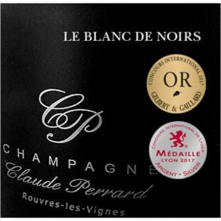 CHAMPAGNE Claude PERRARD - CHAMPAGNE Claude PERRARD Brut Blanc de Noirs - Champagne - N/A - Bouteille - 0.75L