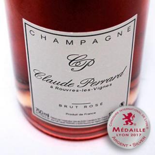 CHAMPAGNE Claude PERRARD - CHAMPAGNE Claude PERRARD Brut Rosé - Champagne - N/A - Bouteille - 0.75L