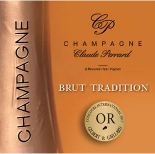 CHAMPAGNE Claude PERRARD - CHAMPAGNE Claude PERRARD Brut Tradition - Champagne - N/A - Bouteille - 0.75L