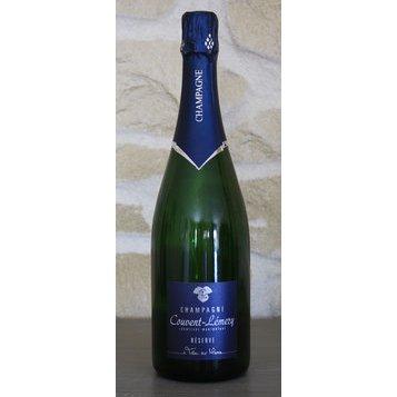 CHAMPAGNE COUVENT LEMERY - La Cuvée de Réserve - Champagne - N/A - Bouteille - 0.75L