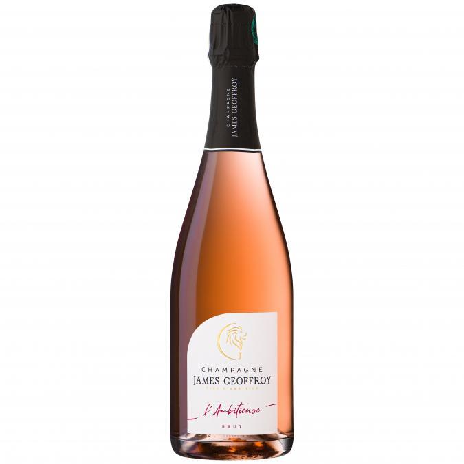 Champagne James Geoffroy - L'Ambitieuse Brut Rosé - Champagne - N/A - Bouteille - 0.75L