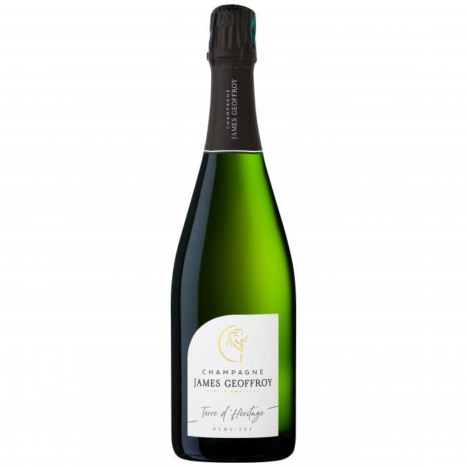 Champagne James Geoffroy - Terre d'Héritage Demi-sec - Champagne - N/A - Bouteille - 0.75L