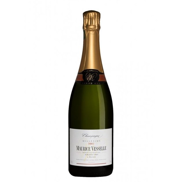 Champagne Maurice Vesselle - Millésime 2007 - Champagne - 2007 - Bouteille - 0.75L