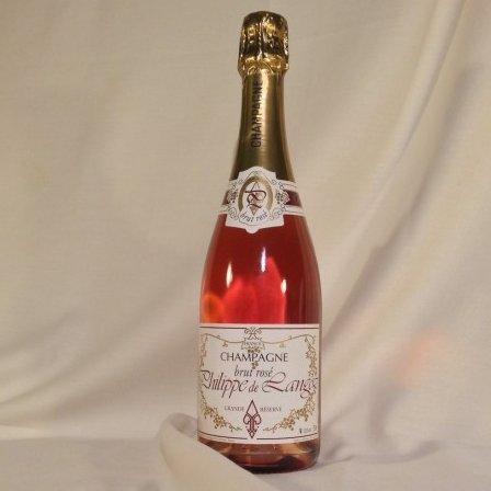 Champagne Philippe de Langoz - Champagne Philippe de LANGOZ Brut Rosé - N/A - Bouteille - 0.75L
