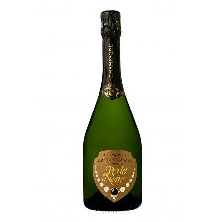 Champagne Philippe de Langoz - Champagne Philippe de LANGOZ Cuvée de Prestige PERLE NOIRE - 2008 - Bouteille - 0.75L