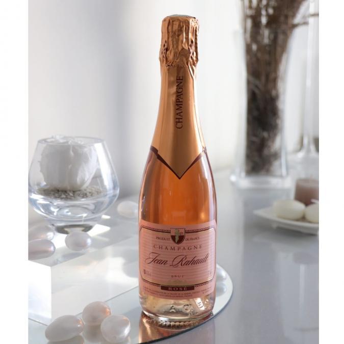Champagne Rahault - Rosé - N/A - Demi-bouteille - 0.375L