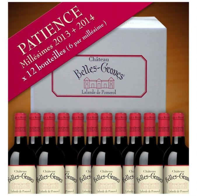 Château Belles-Graves - PATIENCE / 12 BOUTEILLES 2013-2014 - 2013 - Bouteille - 0.75L