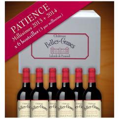 Château Belles-Graves - PATIENCE / 6 BOUTEILLES 2013-2014 - 2013 - Bouteille - 0.75L
