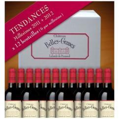 Château Belles-Graves - TENDANCES / 12 BOUTEILLES - 2012 - Bouteille - 0.75L