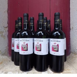 Château de Bellegarde - 12 Côtes de Bordeaux  AOC  cuvée Prestige 2019 - 2019 - Bouteille - 0.75L