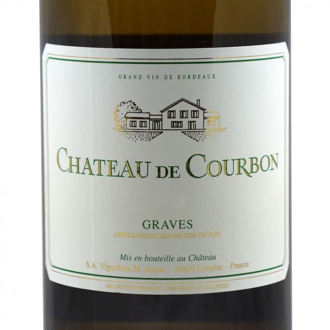 Château du Cros - Château de Courbon Blanc 2016 - 2016 - Bouteille - 0.75L