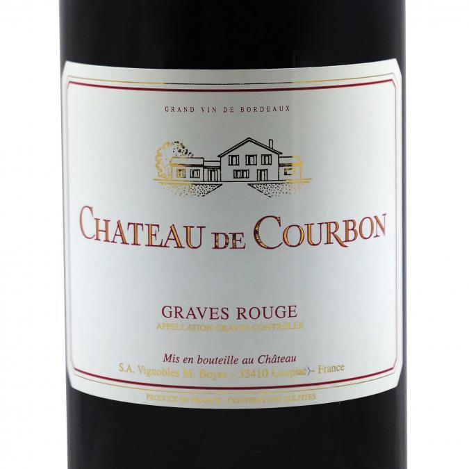 Château du Cros - Château de Courbon Rouge 2016 - 2016 - Bouteille - 0.75L