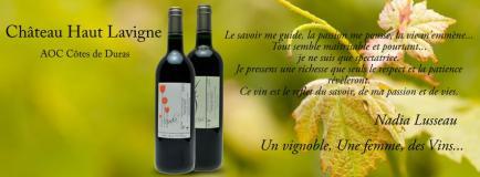 Château Haut Lavigne - Un vignoble, une femme, des vins...
