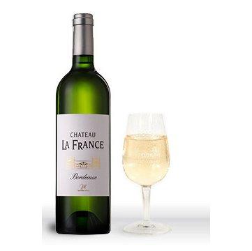 Chateau La France - Château La France A.O.C Bordeaux Blanc Sec Millésime - 2016 - Bouteille - 0.75L