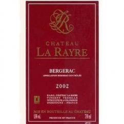 CHATEAU LA RAYRE - CHATEAU LA RAYRE - 2005 - Bouteille - 0.75L