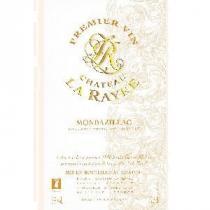CHATEAU LA RAYRE - CHATEAU LA RAYRE Monbazillac Premier Vin - 2008 - Demi-bouteille - 0.375L