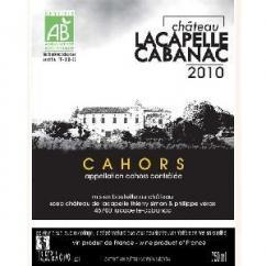 Château Lacapelle Cabanac - Château Lacapelle Cabanac - 2010 - Bouteille - 0.75L
