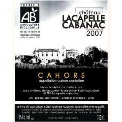 Château Lacapelle Cabanac - Château Lacapelle Cabanac Tradition - 2007 - Bouteille - 0.75L