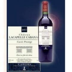 Château Lacapelle Cabanac - Cuvée Prestige - 2000 - Bouteille - 0.75L