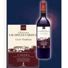 Château Lacapelle Cabanac - Cuvée Tradition - 2001 - Bouteille - 0.75L