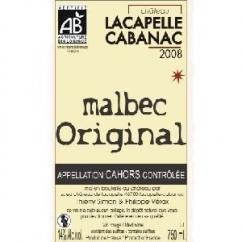 Château Lacapelle Cabanac - MALBEC ORIGINAL - 2008 - Bouteille - 0.75L