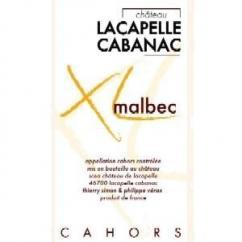 Château Lacapelle Cabanac - Malbec XL ** Bouteille de 50 cl.** - 2006 - Demi-bouteille - 0.375L