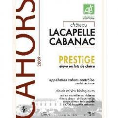 Château Lacapelle Cabanac - PRESTiGE - 2009 - Bouteille - 0.75L
