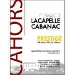 Château Lacapelle Cabanac - PRESTiGE **Bouteille de 50 cl.** - 2004 - Demi-bouteille - 0.375L