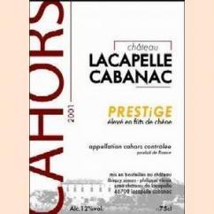 Château Lacapelle Cabanac - PRESTiGE - Bouteille de 50 cl. - 2003 - Demi-bouteille - 0.375L