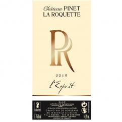 Château Pinet la Roquette - Pinet la Roquette - L'Esprit - 2015 - Bouteille - 0.75L