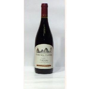 Château Portier - Chénas Vieilles Vignes - rouge - 2012 - Bouteille - 0.75L