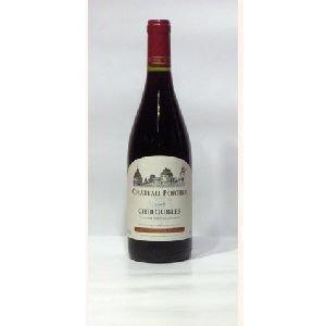 Château Portier - Chiroubles Vieilles Vignes - rouge - 2012 - Bouteille - 0.75L