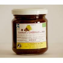 Chaudron des Fées - Confiture de Casseilles au miel - Confiture - 235