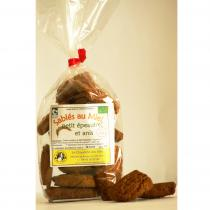 Chaudron des Fées - Sablés aux miel et à l'Anis - Biscuit et gâteau individuel - 150gr