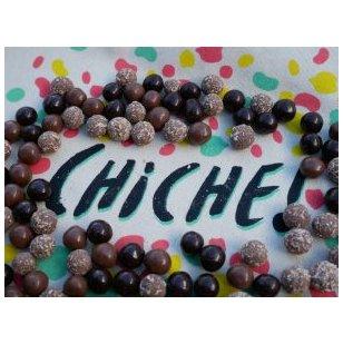 CHICHE - 3 SACHETS POIS CHICHES GRILLÉS – CHOCOLAT LAIT - pois chiche