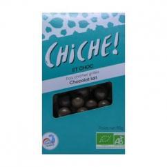 CHICHE - 6 SACHETS POIS CHICHES GRILLÉS – CHOCOLAT LAIT - pois chiche