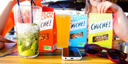 CHICHE - Des produits originaux, prêts à consommer et gourmands à base de légumineuses françaises et bio